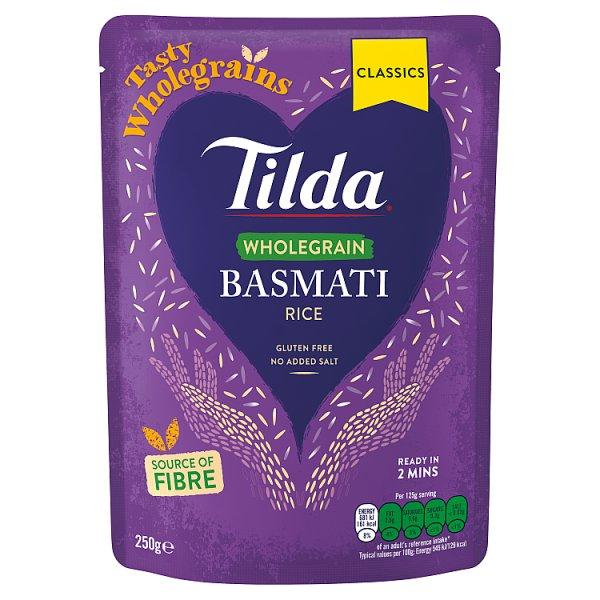 Tilda Steam Brown Rice Pm1.09 250g