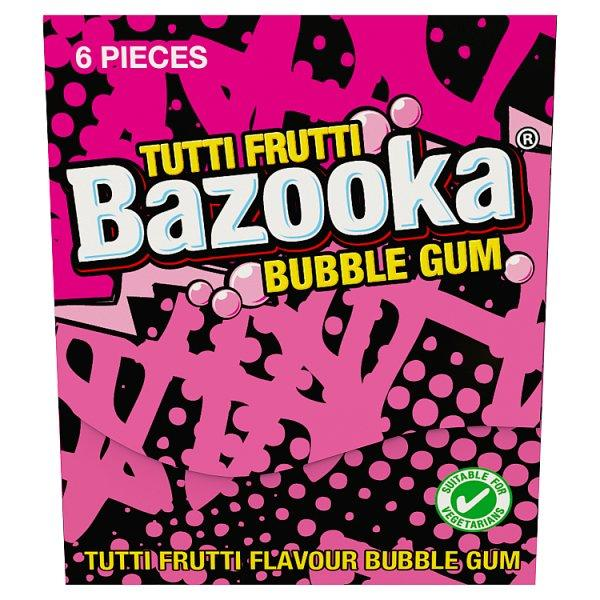 Bazooka Bubblegum Chunks  Wallet Pack 33g