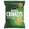 Jacobs Crinklys Cheese & Onion Pm1.00 105g