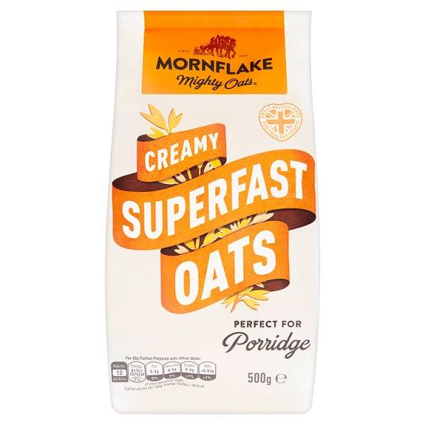Mornflakes Superfast Oats Pm 1.00 500g