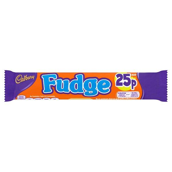 Cadburys Fudge Pm 25p 25g