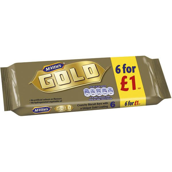 Mcvities Gold Pm1.00 6pk