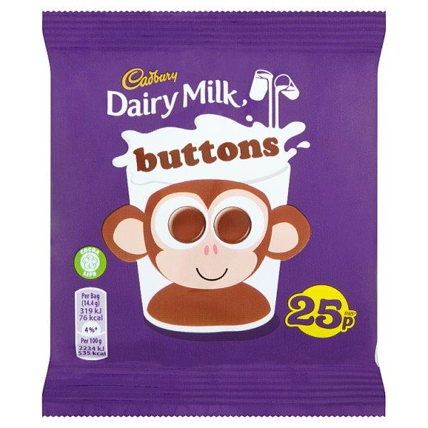 Cadburys Buttons Pm 25p 14g