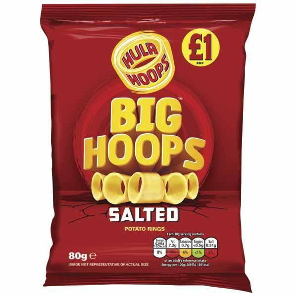 Big Hoops Salted Pm 1.00 80g