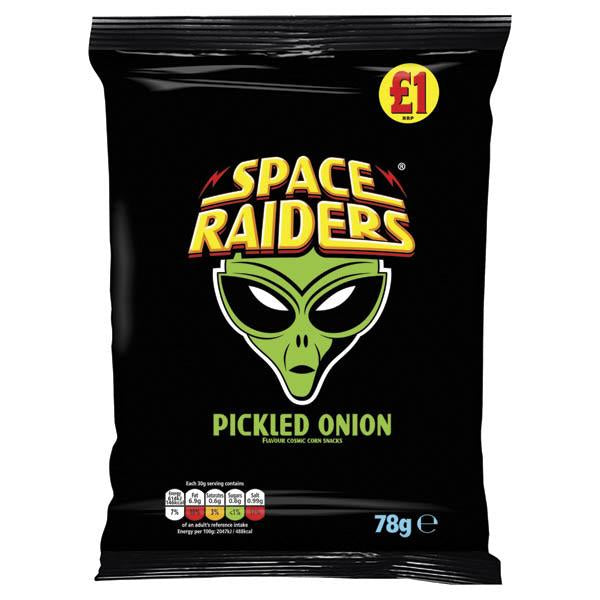 Kp Space Raiders Pickled Onion £1 78g