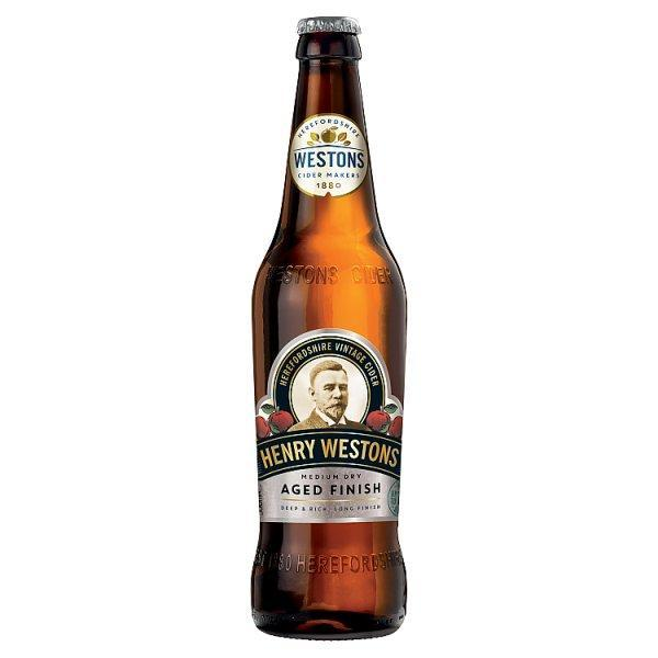 Henry Westons Aged Finish Cider Bottle 6.5% 500ml