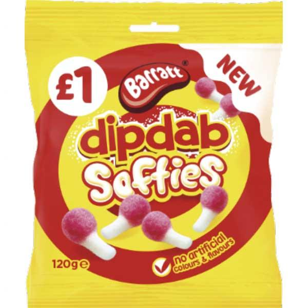 Barratt Dip Dab Softies Pm1.00 120g