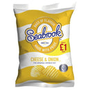 Seabrook Crisps Cheese & Onion Pm 1.00 80g