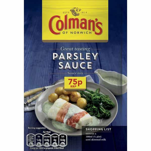 Colmans Sauce Mix Parsley Pm 75p 20g