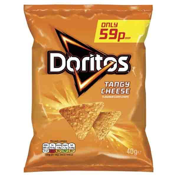 Walkers Doritos Tangy Cheese Pm 59p 40g