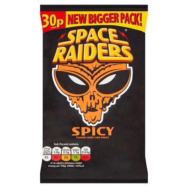 Kp Space Raiders Spicy Pm30p 25g