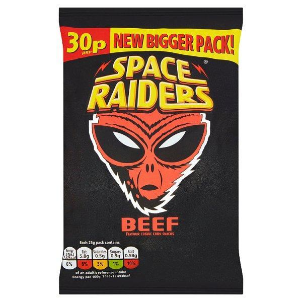 Kp Space Raiders Beef Pm30p 25g