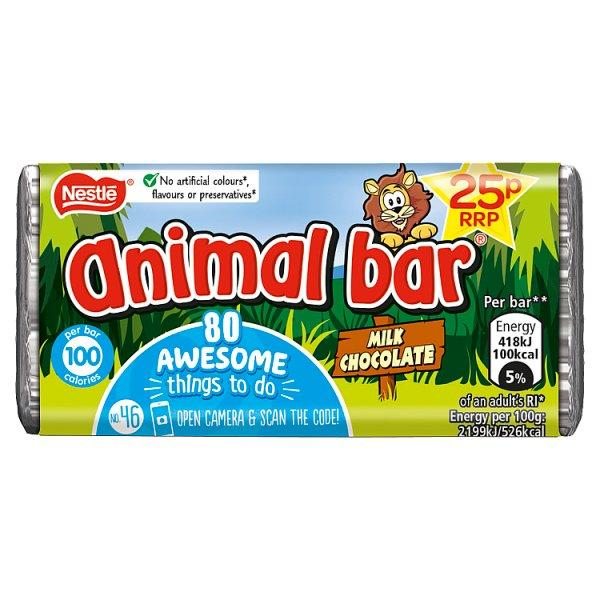 Nestle Animal Bar Pm 25p 19g