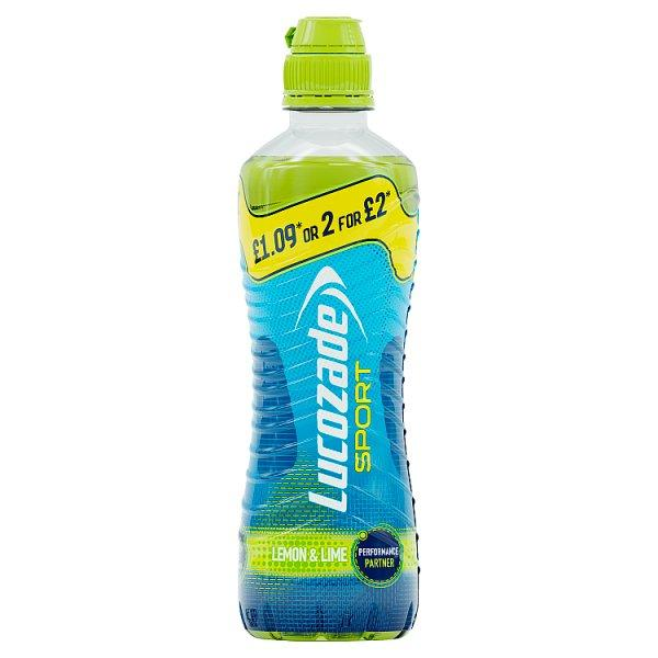 Lucozade Sport Lemon & Lime Pm £1.09 Or 2 For £2 500ml