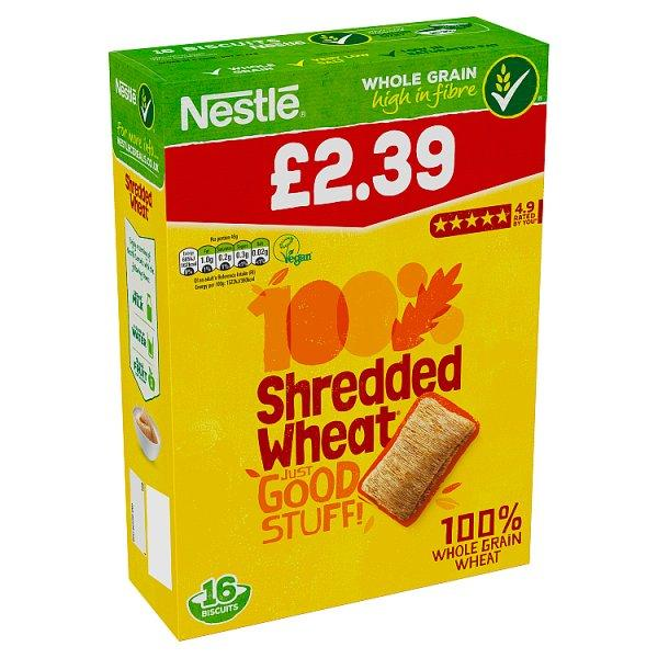 Nestle Shredded Wheat Pm2.39 16's