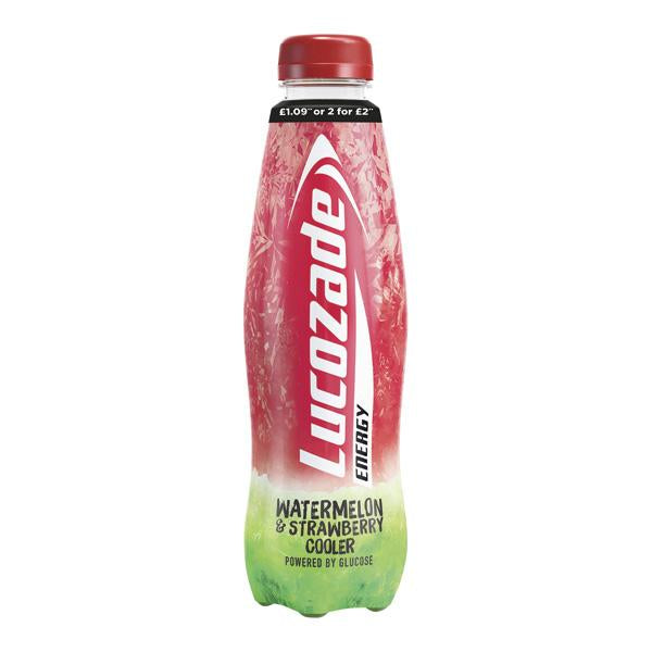 Lucozade Energy Waterm Strawb Pm £1.09 Or 2 For £2 380ml