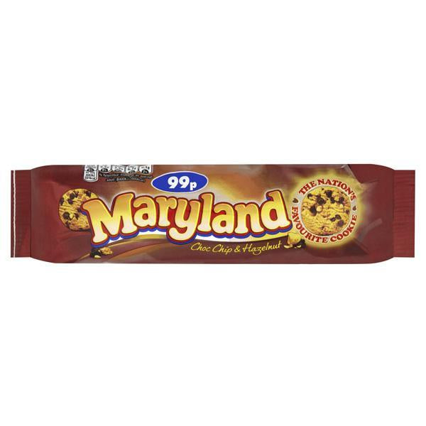 Maryland Choc Chip & Hazelnut Pm99p 136g