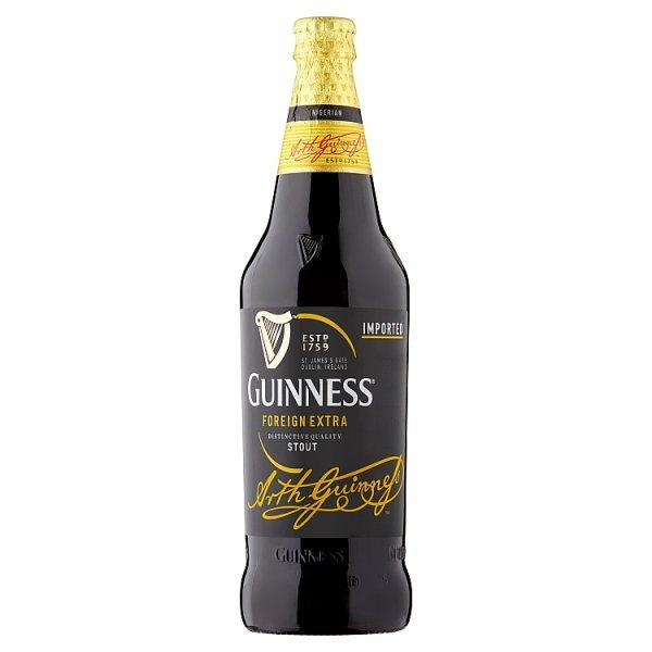 Guinness Foreign Extra Stout Large Bottle 600ml