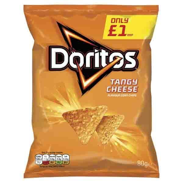 Walkers Doritos Tangy Cheese Pm £1.00 80g
