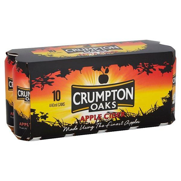 Crumpton Oaks Cider 5% 10 Pack Can 440ml