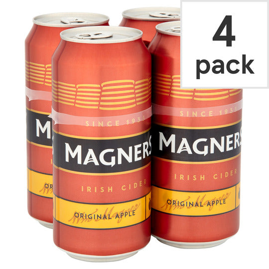 Magners Cider 4 Pack Can Pm £4.49 440ml