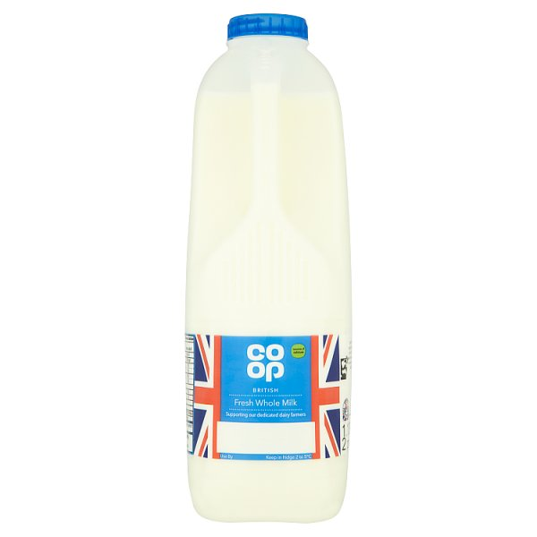 CO OP 2PT WHOLE FRESH MILK