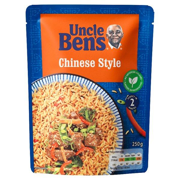 Uncle Bens Chinese  Rice 250g