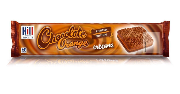 Hills Chocolate Orange Creams 150g