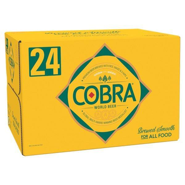 Cobra Indian Lager Loose Bottle 330ml