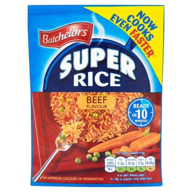 Batchelors Savoury Rice Beef 90g