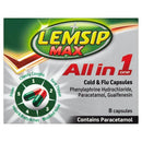 Lemsip Max All In One Capsules 8's