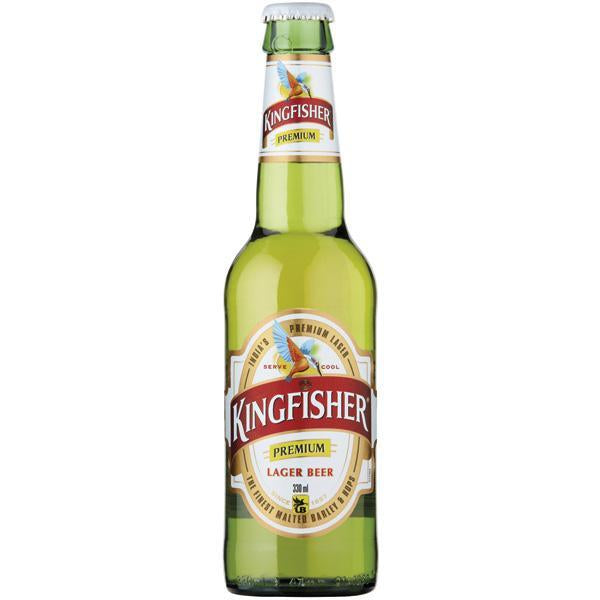 Kingfisher Indian Lager Loose Bottle 330ml