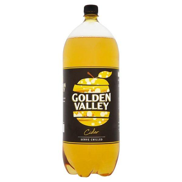 Golden Valley Dry Cider Bottle 3ltr