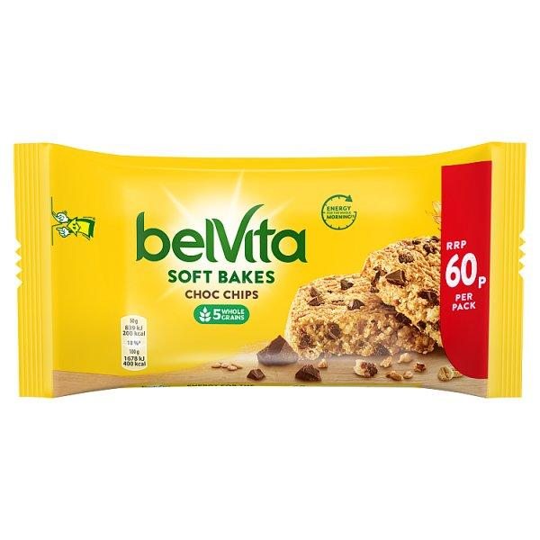 Belvita Soft Bake Choc Chip Pm 60p 50g