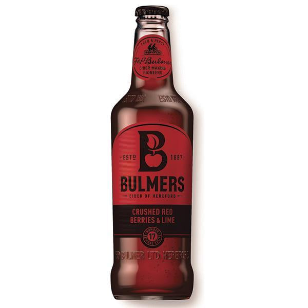 Bulmers Crushed Red Berries And Lime Bottle 500ml