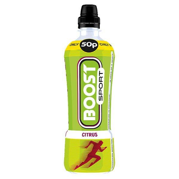 Boost Sport Citrus Pm 50p 500ml