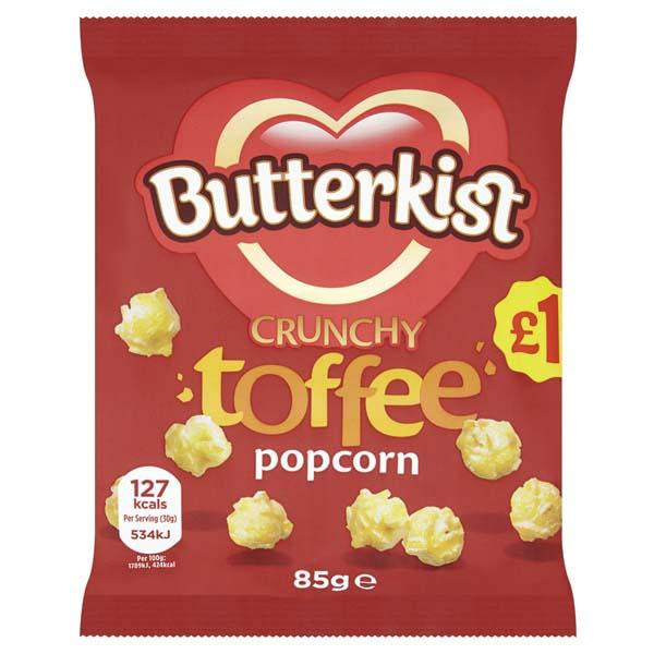 Butterkist Crunchy Toffee Popcorn Pm1.00 85g