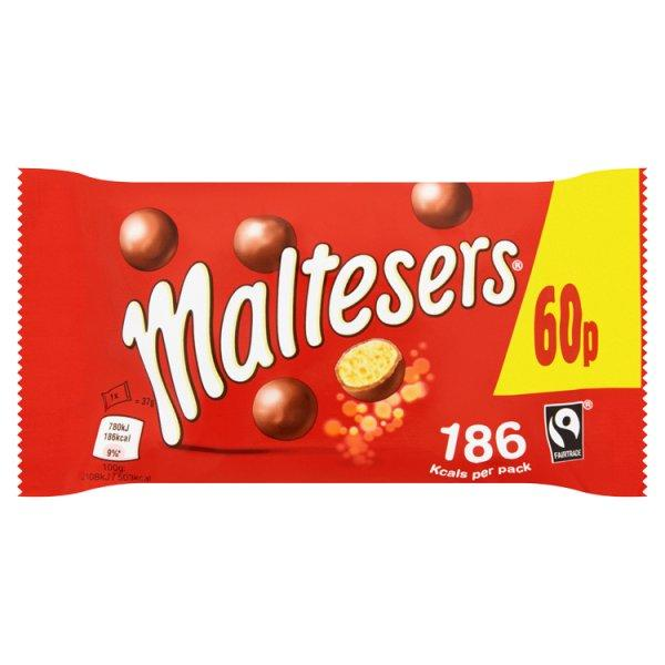 Maltesers Standard Bag Pm 60p 37g