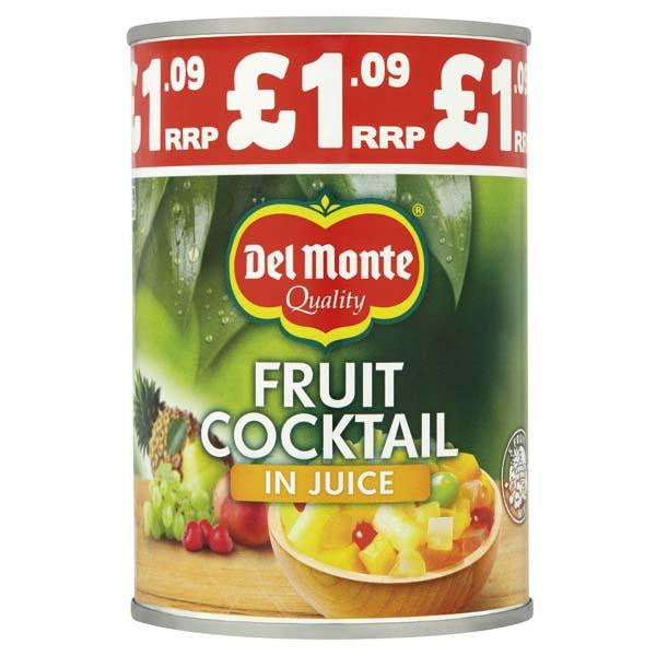 Del Monte Fruit Cocktail In Juice Pm1.09 415g