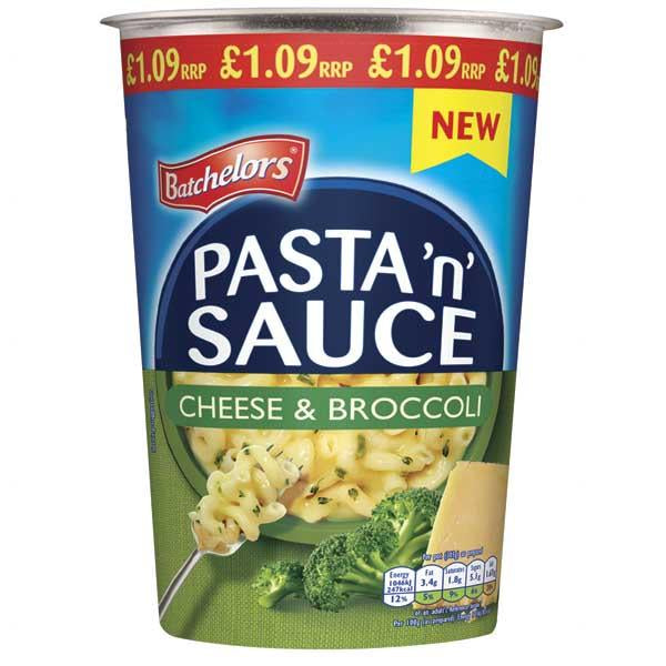 Batchelors Pasta N Sauce Pot Cheese&broccoli P1.09 65g