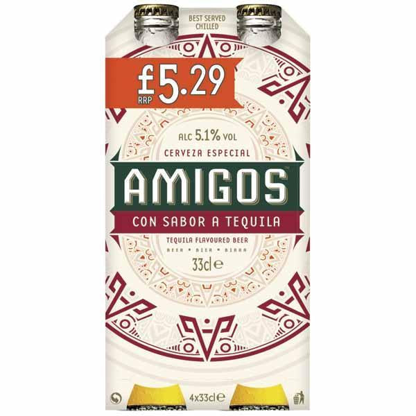 Amigos 4 Pack Pm £5.29 330ml