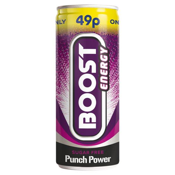 Boost Sugar Free Punch Pm 49p 250ml