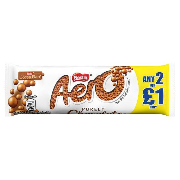 Aero Bubbly Milk Bar Pm 2 For £1 36g