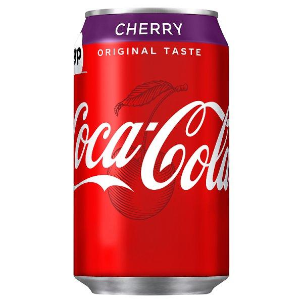 Coca Cola Classic Cherry Pm 79p 330ml