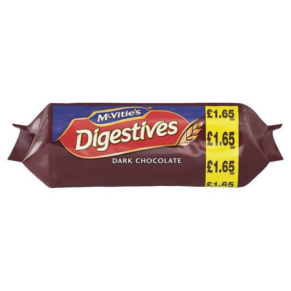 Mcvities Dark Chocolate Digestives Pm1.65 266g