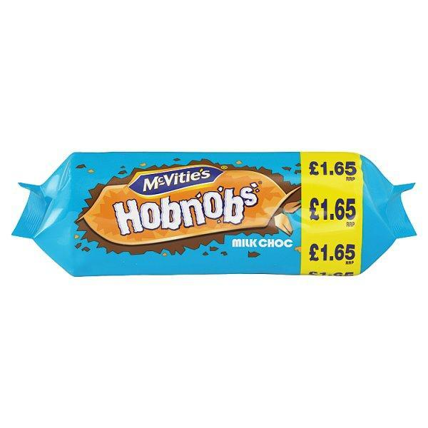 Mcvities Milk Chocolate Hobnobs Pm1.65 267g