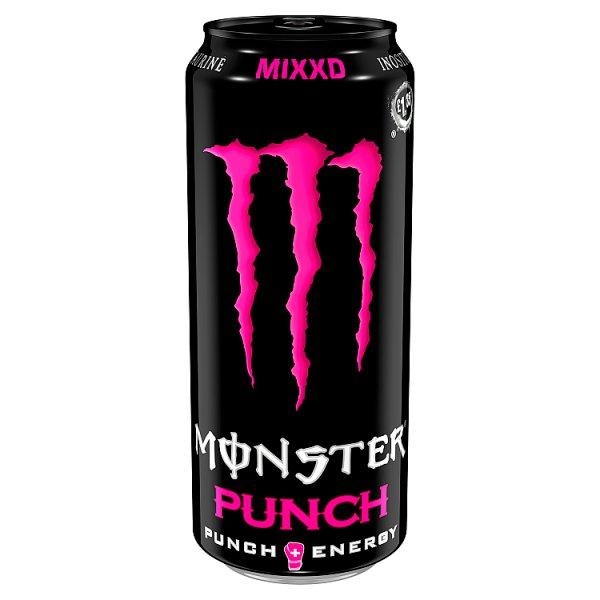 Monster Energy Punch Mixxd Pm £1.35 500ml