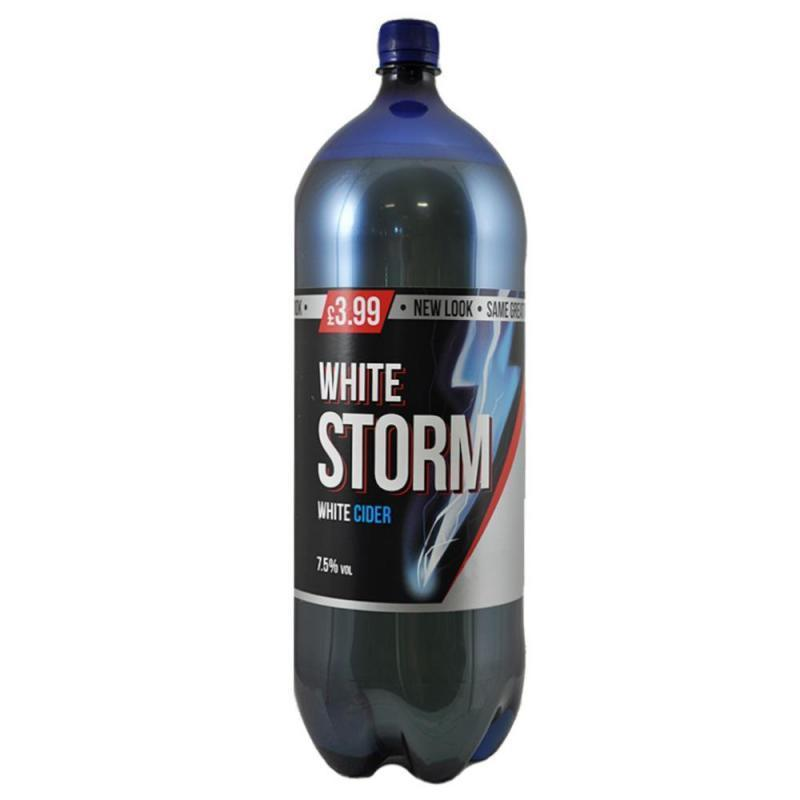 White Storm Bottle Pm £3.99 2.5ltr