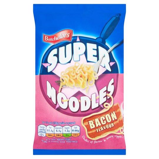 Batchelors Super Noodles Bacon Pm1.09 90g