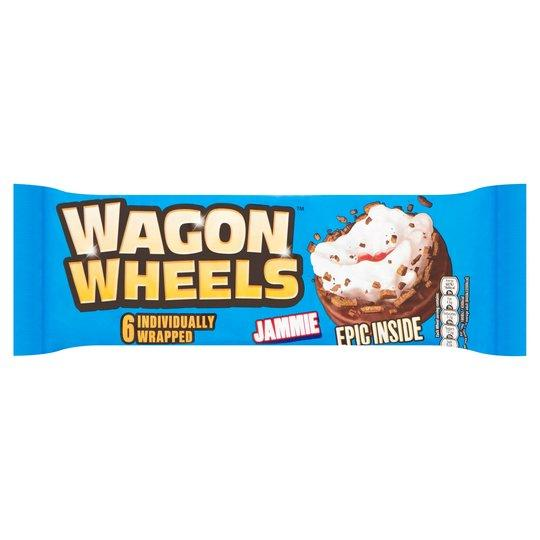 Burtons Wagon Wheels Jammie Pm1.00 229g